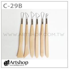陶藝工具 雕塑用具 (6支入) C-29B