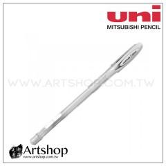 日本 三菱 uni Signo UM-120AC 粉彩中性筆 (白) 牛奶筆